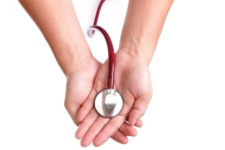 Hand-en stethoscoop