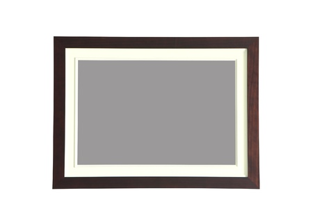antique gold picture frames: beautiful photo frame made by wood texture Stock Photo