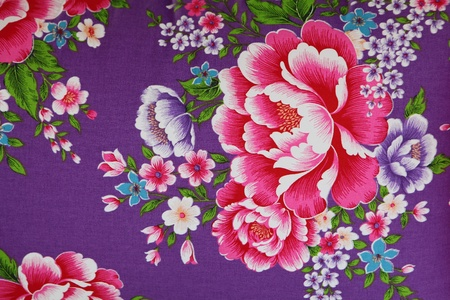 traditional chinese cloth with beautiful flower style Stock Photo - 11720570