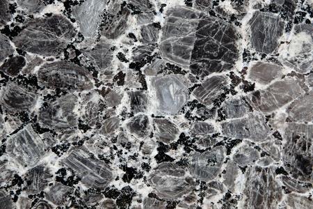 granite wall: black marble texture Stock Photo