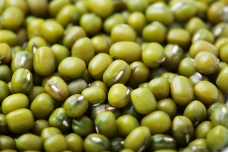 mung bean: close up of Green bean or mung bean background. Agriculture product, food.