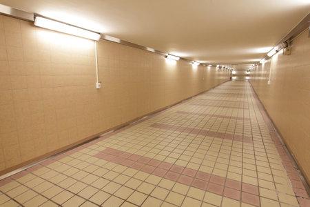 underground passage at a metro railway station, shot in Taipei, Taiwan, asia Stock Photo - 17261917