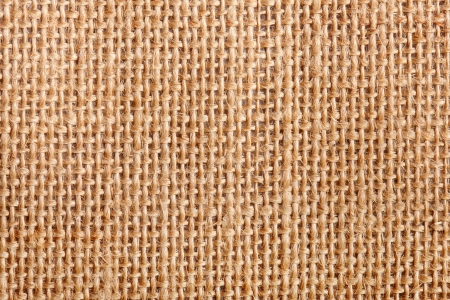 plait: background of an old flax tissue