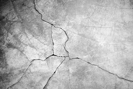 cracked concrete frame: Grunge concrete cement wall with crack in industrial building, great for your design and texture background