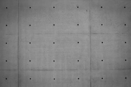 Grunge mur de béton de ciment (coffrage et de finitions pour béton) dans les bâtiments industriels, pour votre grand design et la texture de fond Banque d'images