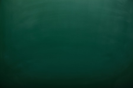 Blank green chalkboard, blackboard texture with copy space photo