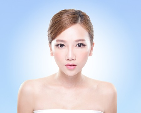 asiatische Nahaufnahme