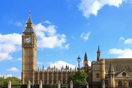 Big Ben in London, United Kingdom, uk 版權商用圖片