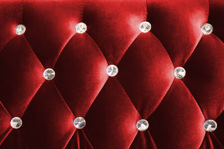 luxurious background: Red luxurious background and texture shot from a sofa
