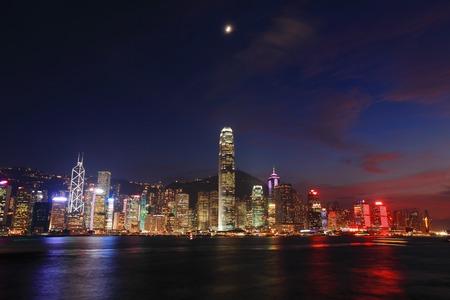 Hong Kong serale nel panorama