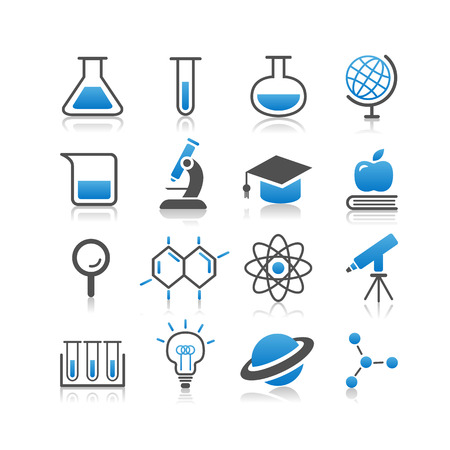 simplicity: Science icon set - Simplicity Series Illustration