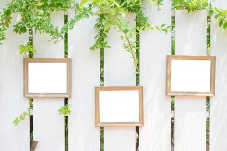 placard: photo frame on the fences, great for your design