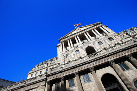 Bank of England for your travel concept Stock Photo