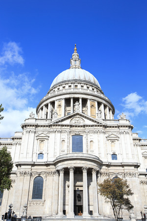 St Paul Cathedral in London for your travel concept Stock Photo