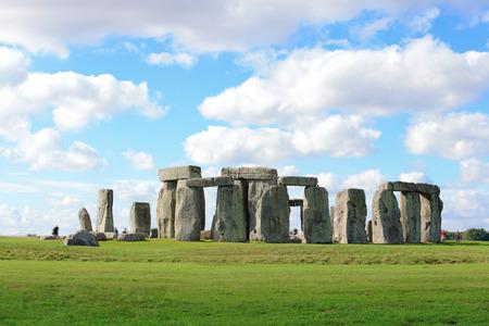 Stonehenge an ancient prehistoric stone monument near Salisbury Reklamní fotografie