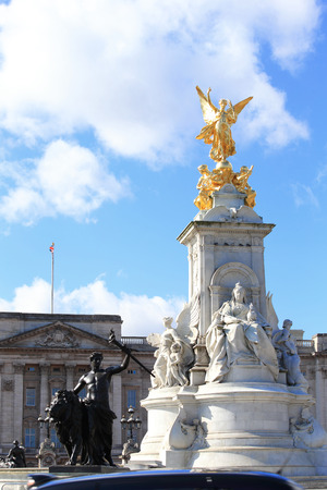 beautiful Buckingham Palace for your travel concept Editorial