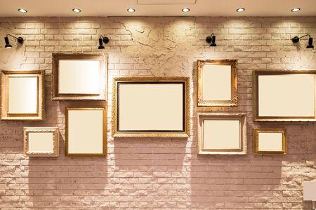 Photo art gallery on the wall great for your design