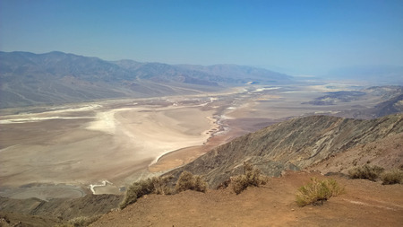 Death Valley Desert Scenery