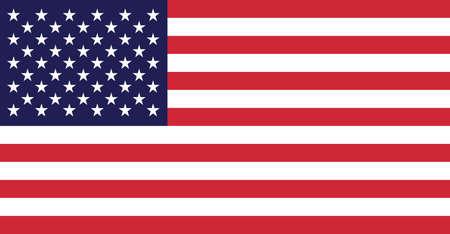 USA American Flag 版權商用圖片 - 59479444