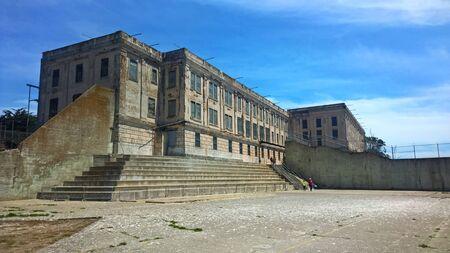 penitentiary: Alcatraz Island Prison Yard The Rock