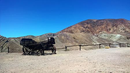 Desert Wasteland Scene Wild West