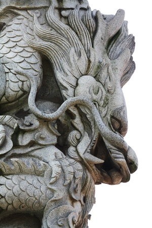 Stone carving-Dragon photo