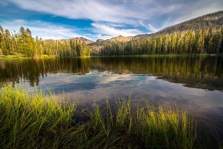 Sylvan Lake, Wyoming, USA