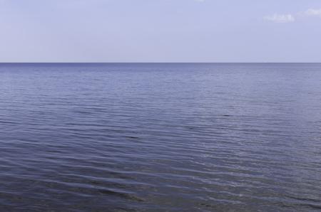 unbound: Calm mesmerizing sea meeting the horizon