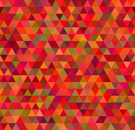 seamless pattern of pink triangles and other color Vector