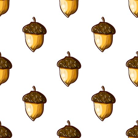 filberts: seamless background with hazelnuts. hand-drawn illustration
