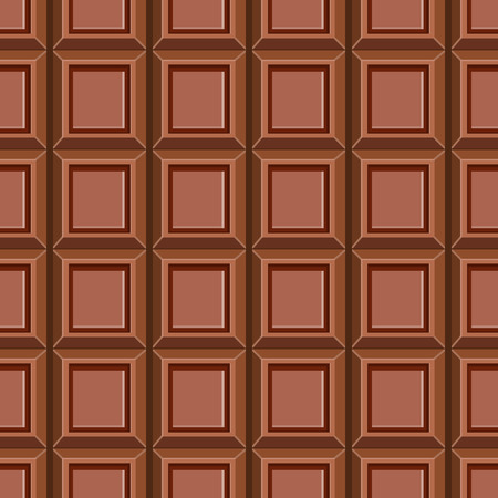 deliciously: Seamless pattern with chocolate texture. Sweet illustration.