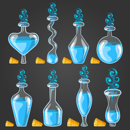 bung: Big set with different magic elixir