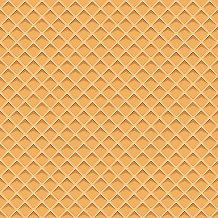 Seamless pattern with waffel texture