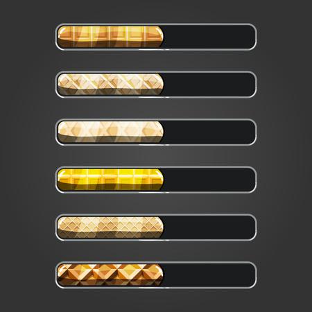Set of waffle bar downloader