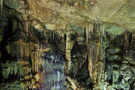 Psychro Cave or Cave of Zeus. Greece island Crete.