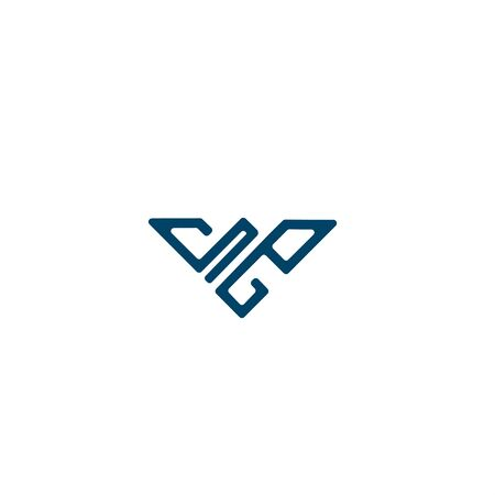Powerful Abstract Falcon For Aviation Logo