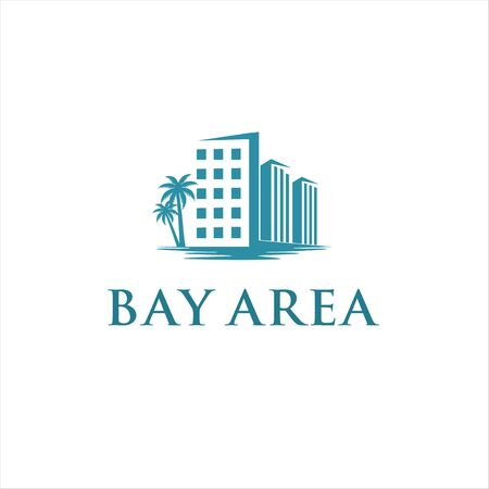 Building Palm and Beach for Bay area logo