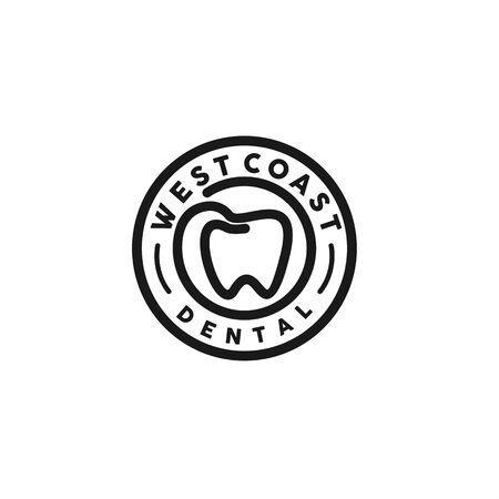 emblem logo for dental Standard-Bild - 130663248