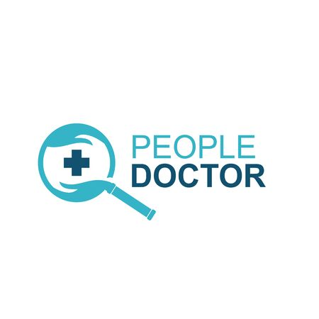 modern logo for research doctor