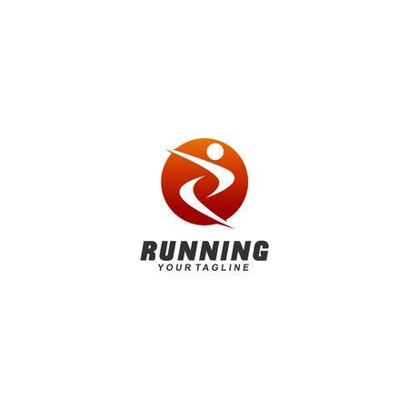 abstract logo for sport Illustration