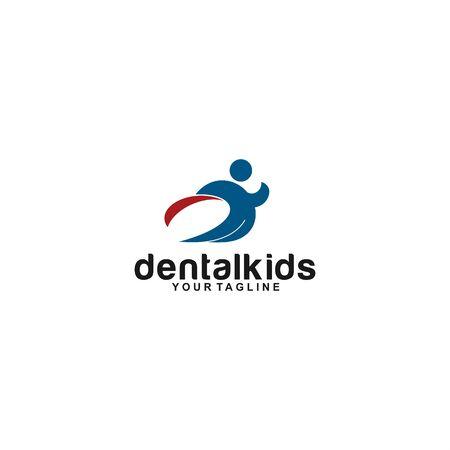 hero kid for dental logo