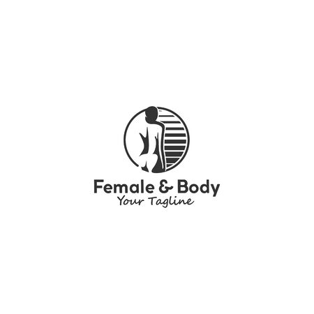 Black and White for female and body Çizim