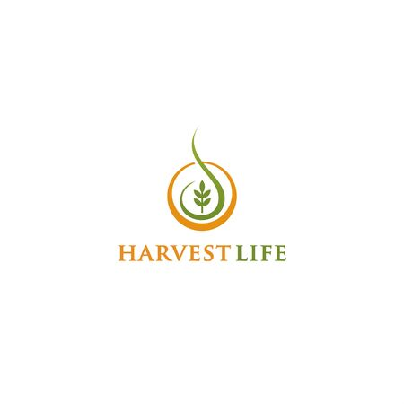 Harvest life for simple logo