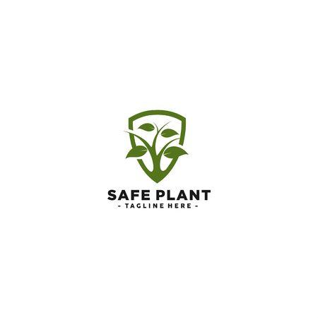 logo for safe plant