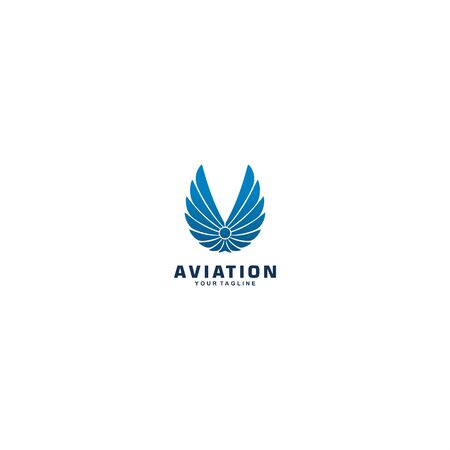 wing badge for aviation