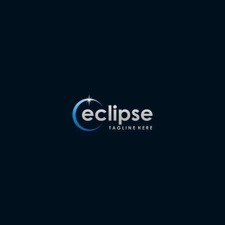 eclipse style design for modern design  イラスト・ベクター素材
