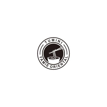 Noodle logo template for personal and company