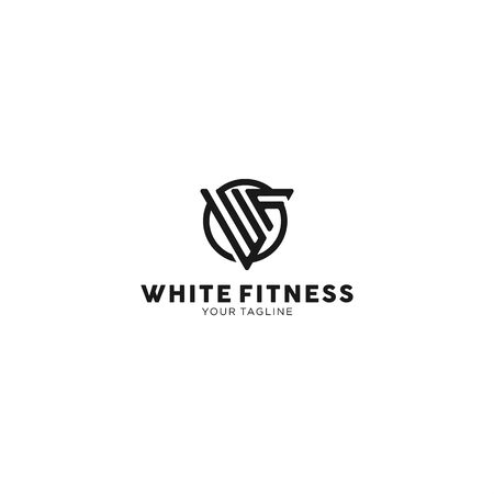 Black and White Logo Design Template