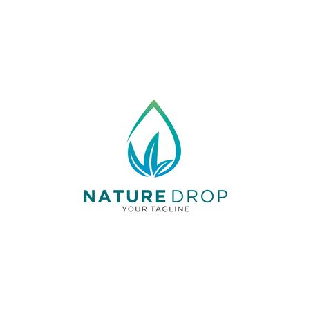 oil drop or water drop for personal and company logo  イラスト・ベクター素材