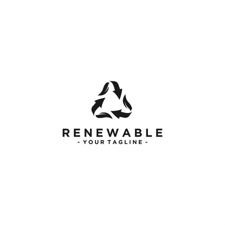 Recycle for personal and company logo